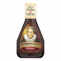 Newman's Own Balsamic Salad Dressing - Vinegar - Case of 6 - 16 Fl oz. - 16 FZ