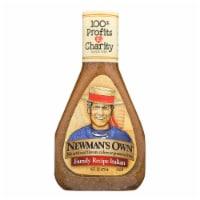 Newman's Own Family Recipe Dressing - Italian - Case of 6 - 16 Fl oz. - 16 FZ