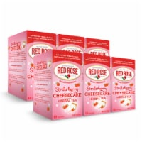 Red Rose Sweet Temptations Strawberry Cheesecake 18ct - 6 pack - 6 Boxes