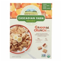 Cascadian Farm Organic Cereal - Graham Crunch - Case of 10 - 9.6 oz