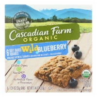 Cascadian Farm - Soft Baked Squares - Wild Blueberry - Case of 8 - 6/1.24oz.