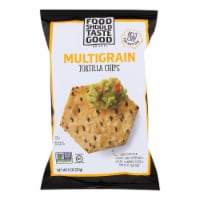 Food Should Taste Good Multigrain Tortilla Chips - Multigrain - Case of 12 - 11 oz. - Case of 12 - 11 OZ each