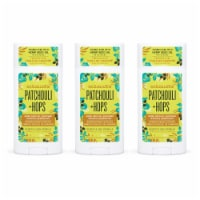 Schmidt's Patchouli & Hops Antiperspirant Deodorant Stick