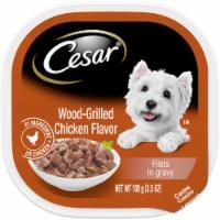 Cesar Wood-Grilled Chicken Flavored Wet Dog Food - 3.5 oz