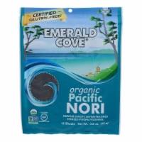 Emerald Cove Organic Pacific Nori - Untoasted Hoshi - Silver Grade - .9 oz - Case of 6 - .9 OZ
