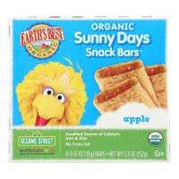 Earth's Best Sunny Days Apple Snack Bars - Case of 6 - 5.3 oz - Case of 6 - 5.3 OZ each
