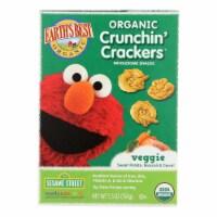 Earths Best Crackers - Organic - Crunchin Crackers - Veggie - Snack - 5.3 oz - case of 6 - Case of 6 - 5.3 OZ each