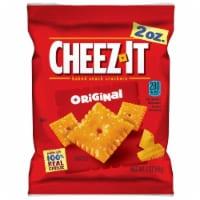Cheez-It Original Baked Snack Crackers - 2 oz. bag, 60 per case