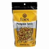 Eden Foods Organic Pumpkin Seeds - Dry Roasted - Case of 15 - 4 oz. - Case of 15 - 4 OZ each