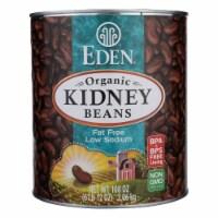 Eden Foods Organic Kidney Beans - Case of 6 - 108 oz. - Case of 6 - 108 OZ each
