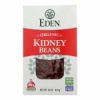 Eden Foods - Beans Kidney Dry - Case of 12 - 16 OZ