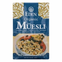 Eden Foods Eden, Organic Muesli - Case of 6 - 17.6 OZ - 17.6 OZ