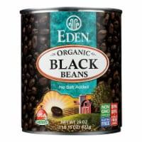 Eden Foods Black Beans Turtle - Case of 12 - 29 oz. - 29 OZ