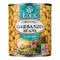 Eden Foods Organic Garbanzo Beans - Case of 12 - 29 oz.