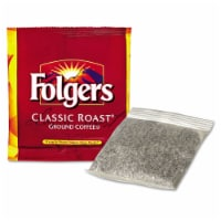 Folgers Classic Roast Ground Coffee - 0.6 oz. in room pack, 200 packs per case