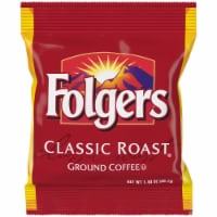 Folgers Classic Roast Ground Coffee, 1.4 Ounce -- 150 per case.