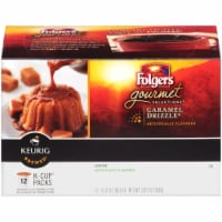 Folgers Caramel Drizzle Coffee K-Cup Pods