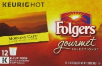 Folgers Gourmet Selections Morning Cafe Coffee K-Cup Pods 72 Count