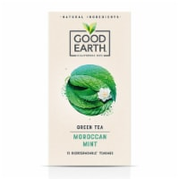 Good Earth Green Tea Moroccan Mint (15 Tea Bags Pack of 6)