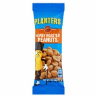 Planters Snack Nuts Honey Roast Peanuts, 2 Ounce -- 144 per case. - 144-2 OUNCE