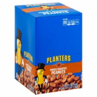 Planters Honey Roasted Cocktail Peanut, 2.5 Ounce -- 45 per case.