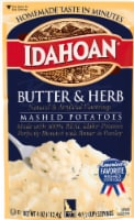 Idahoan Butter & Herb Mashed Potatoes Pouch 12 Count