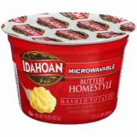 Idahoan Buttery Homestyle Microwave Mashed Potatoes Case