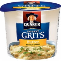 Quaker Instant Grits, Express Real Butter, 1.4 Ounce -- 24 per case. - 24-1.48 OUNCE