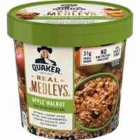 Quaker Real Medleys Apple Walnut Instant Oatmeal Cups