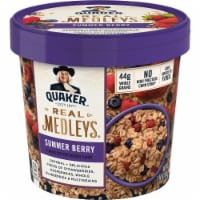 Quaker Real Medleys Summer Berry Instant Oatmeal Cups