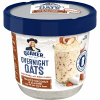 Quaker Toasted Coconut & Almond Overnight Oats Cups 12 Count
