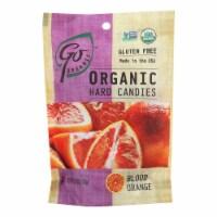Go Organic Hard Candy - Blood Orange - 3.5 oz - Case of 6 - Case of 6 - 3.5 OZ each