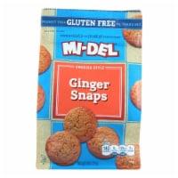Midel Cookies - Ginger Snaps - Case of 8 - 8 oz - 8 OZ