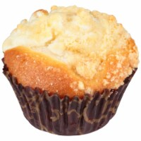Chef Pierre Large Cheese Streusel Muffin -- 48 per case. - 4-3 POUND