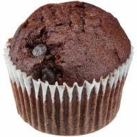 Chef Pierre Small Double Chocolate Chunk Muffin, 2.13 Ounce -- 96 per case. - 4-3 POUND