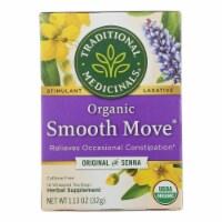 Traditional Medicinals Organic Senna Stimulant Laxative Tea - Caffeine Free - 16 Bags - Case of 1 - 16 BAG each