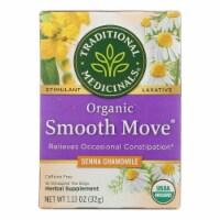 Traditional Medicinals Organic Smooth Tea - Senna Chamomile - 16 Bags - Case of 1 - 16 BAG each
