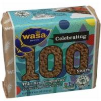 Wasa Thin Rye Poppy Seeds Crispbread, 8.6oz(Pack of 12)