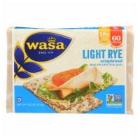 Wasa Light Rye Crispbread - 12 ct / 9.5 oz