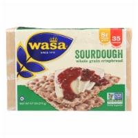 Wasa Crispbread Rye Crispbread - Sourdough - Case of 12 - 9.7 oz. - 9.7 OZ