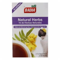 Badia Natural Herbs Tea, 25 ea (Pack of 10)