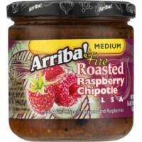 Arriba Medium Fire Roasted Rasberry Chiptole Salsa, 16 Oz (Pack of 6) - 6