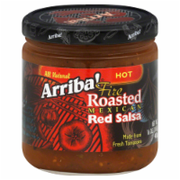Arriba Hot Red Salsa, 16 OZ (Pack of 6) - 6
