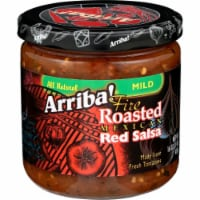 Arriba Fire Roasted Mexican Red Salsa Mild 16oz(Pack of 6) - 6