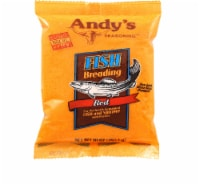 Andys Seasoning Red Fish Breading, 10 Oz (Pack of 6) - 6