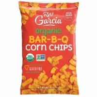 Rw Garcia Organic Bar-B-Q Corn Chips Gluten Free, 7.5 oz (Pack of 12) - 12