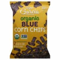 RW Garcia Organic Blue Corn Chips Gluten Free and No Sugar Added, 8.25oz (Pack of 12) - 12