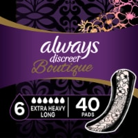 Always Discreet Boutique Extra Heavy Absorbency Long Incontinence Pads