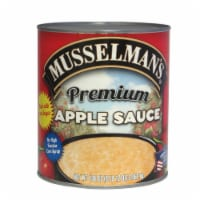 Knouse Foods Musselmans Premium Sweetened Apple sauce, 108 Ounce -- 6 per case. - 6-108 OUNCE
