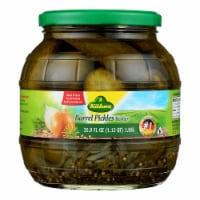Kuhne Barrel Pickles - Case of 6 - 34.2 oz.